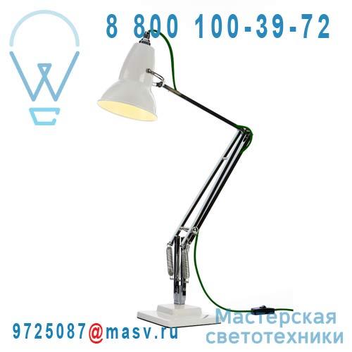 30959 Lampe de bureau Blanc fil Vert - DUO 1227 Anglepoise