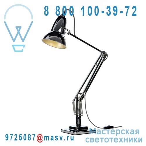 30962 Lampe de bureau Chrome fil Noir/Blanc - DUO 1227 Anglepoise