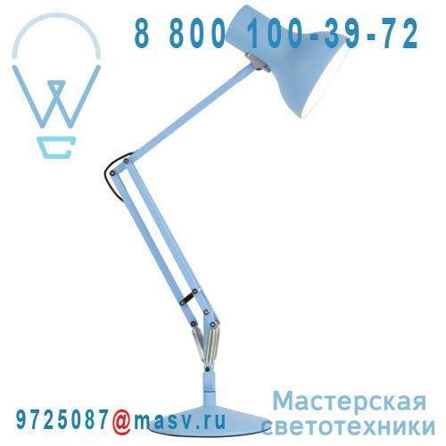 30733 Lampe de bureau Bleu Mini LED - TYPE 75 Anglepoise