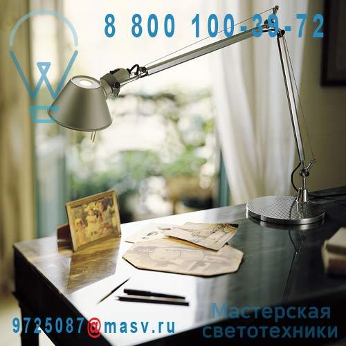 A001000 + A004030 Lampe Aluminium Anodise - TOLOMEO Artemide