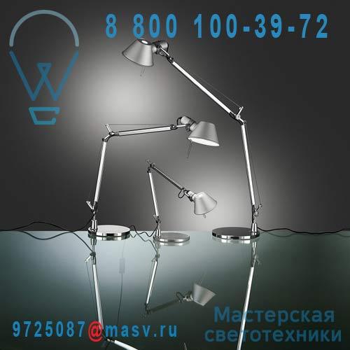 A011900 + A010300 Lampe Micro LED Aluminium - TOLOMEO Artemide