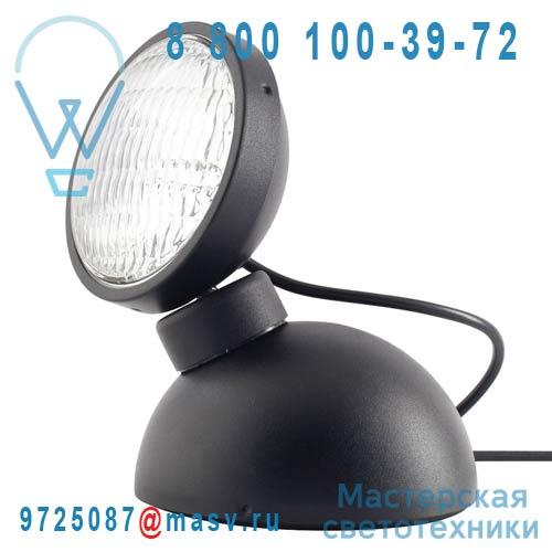 10212 Lampe a poser Noir - 1969 Azimut Industries