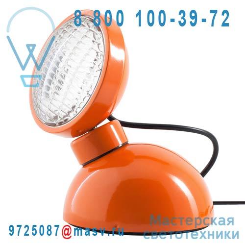10218 Lampe a poser Orange Brillant - 1969 Azimut Industries