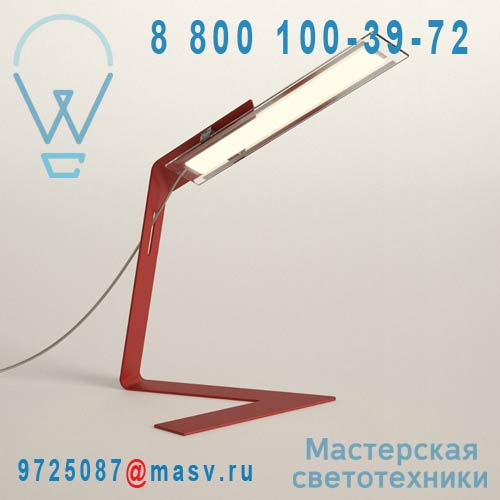 BB31.5 VERMILLON Lampe de bureau Rouge - FOLZ VERMILLON Blackbody