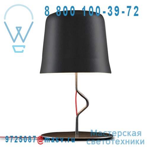 ACAM.000780 Lampe a poser Noir - AGATA Contardi