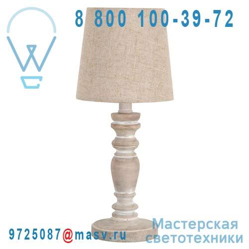 9108878 Lampe a poser Bois/Naturel - CANDICE Corep