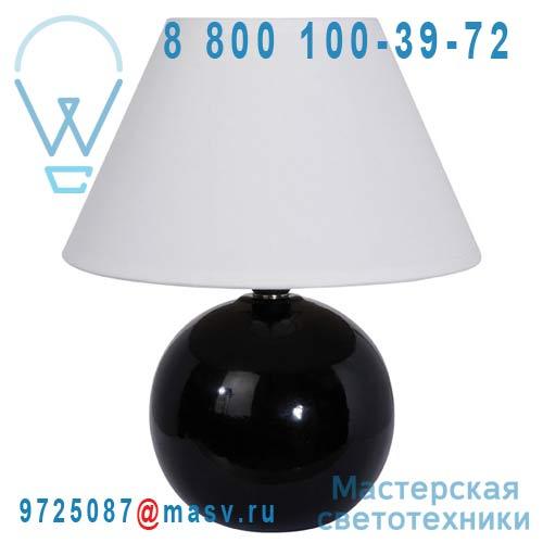 40005 Noir Lampe a poser Noir - LOU Corep