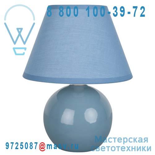 40013 Bleu Glacier Lampe a poser Bleu Glacier - MINI LOU Corep