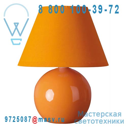 40013 Orange Lampe a poser Orange - MINI LOU Corep