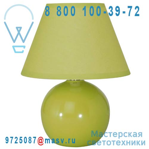 40013 Anis Lampe a poser Vert Anis - MINI LOU Corep
