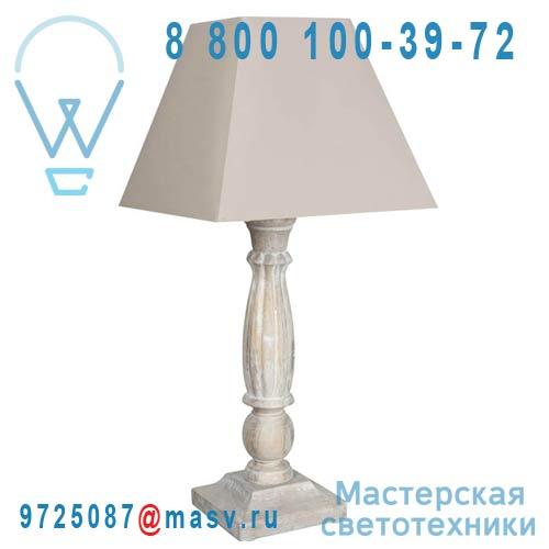 8932955 Lampe a poser Beige patine - QUATRO Corep