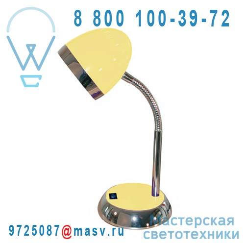 A0027 JAUNE Lampe de Bureau Jaune - TROPIC Corep