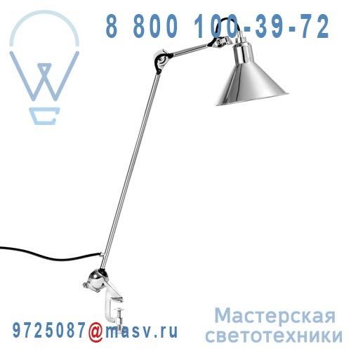 201 CH-CH Lampe de bureau etau a Chrome - N°201 DCW Editions