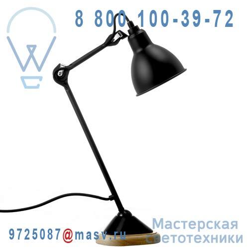 206 BL-SAT Lampe de bureau Noir - N°206 DCW Editions