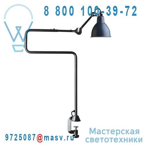 N°211/311 BL-BLUE Lampe de bureau a etau Bleu & Noir - N°211/311 DCW Editions