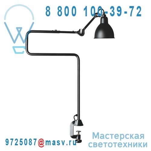 N°211/311 BL-SAT Lampe de bureau a etau Noir - N°211/311 DCW Editions