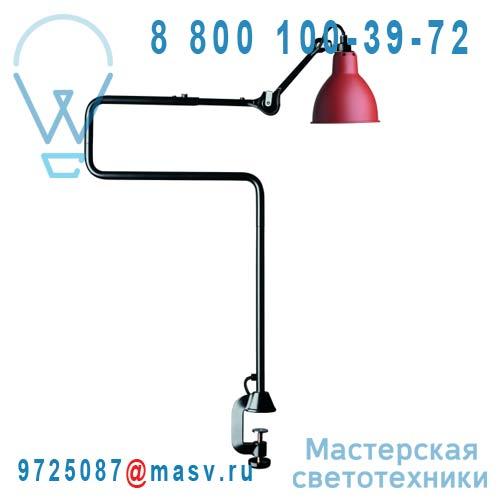 N°211/311 BL-RED Lampe de bureau a etau Rouge & Noir - N°211/311 DCW Editions
