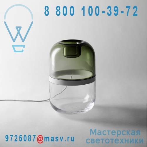 2062-0018 Lampe a poser LED S Vert & Transparent - DEMI Design Stockholm House