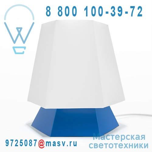 DC290E Lampe a poser Blanc/Bleu - NONA DesignCode