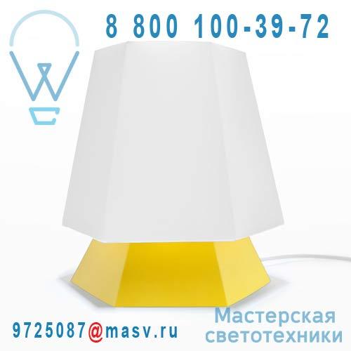 DC290C Lampe a poser Blanc/Jaune - NONA DesignCode
