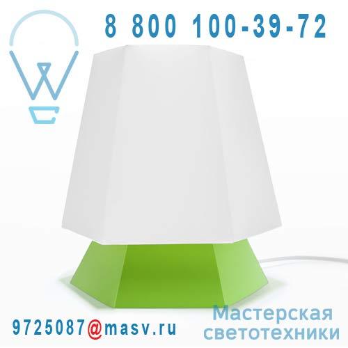 DC290D Lampe a poser Blanc/Vert - NONA DesignCode