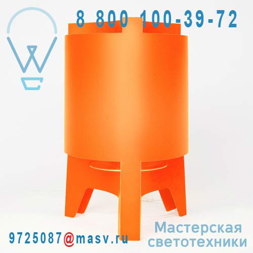 DC232B Lampe a poser Orange - ORBIT DesignCode