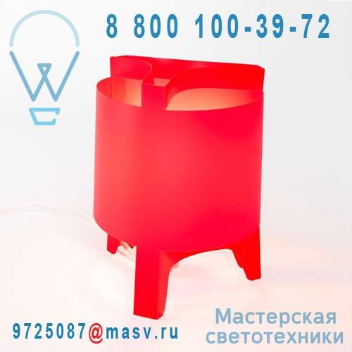 DC230A Lampe a poser Rouge Mini - ORBIT DesignCode