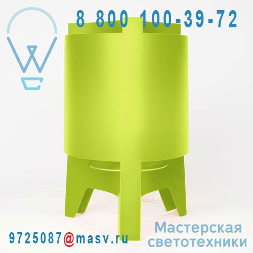 DC232D Lampe a poser Vert - ORBIT DesignCode