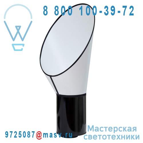 L67pccn Lampe Blanc/Noir - PETIT CARGO DesignHeure