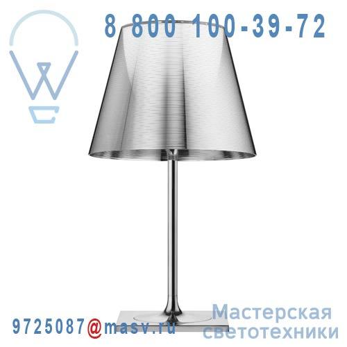 F6303004 Lampe a poser XL Chrome & Argent - KTRIBE T2 FLOS