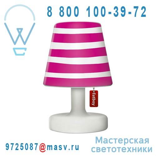 EDISON THE PETIT + 900.4302 Lampe a poser + Abat-jour Copper Cappie Mr Pink - EDISON THE PETIT F
