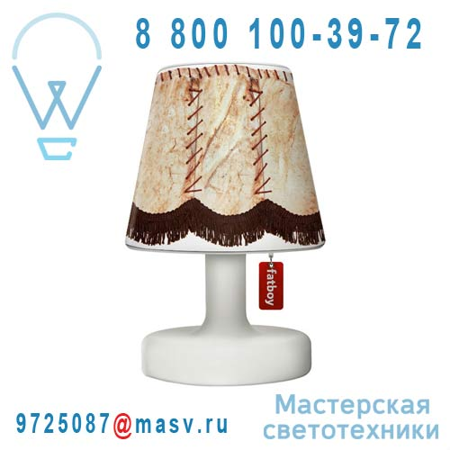 EDISON THE PETIT + 900.4315 Lampe a poser + Abat-jour Copper Cappie Piggy - EDISON THE PETIT Fat