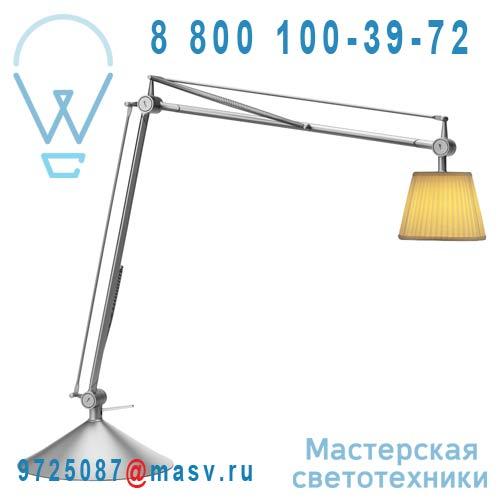 F0375000 2 COLIS (F0373000A + F0380020) Lampe a poser Plisse Ivoire - ARCHIMOON FLOS