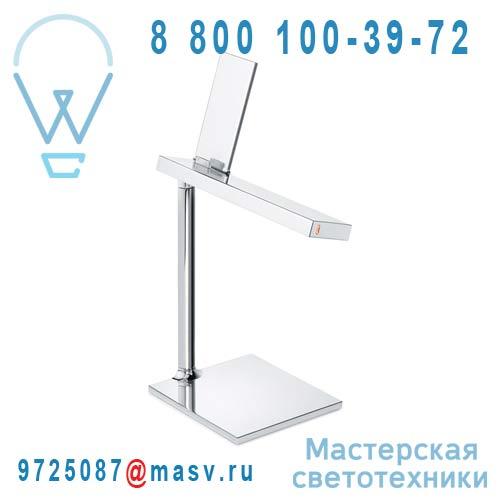 "F0030057 Lampe a poser Chrome LED - D""E-LIGHT FLOS"