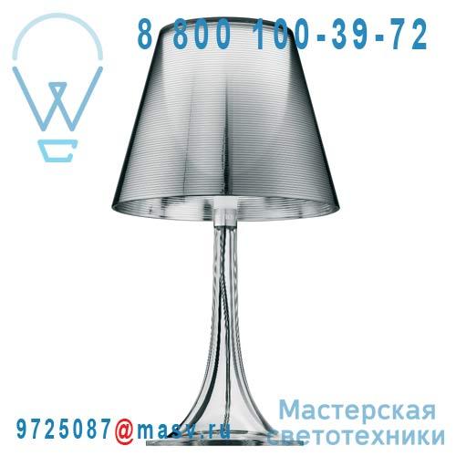F6255000 Lampe a poser Argent - MISS K FLOS