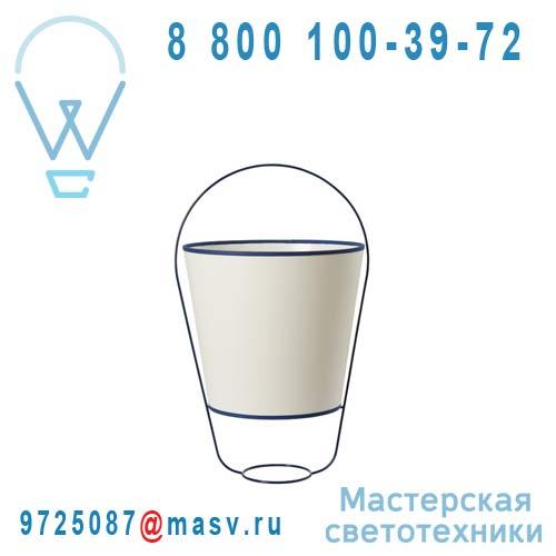 SB14131BL Lampe Blanc/Bleu - BUCKET Forestier