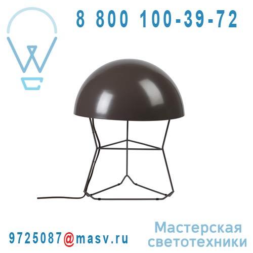 AL10130LBR Lampe Marron L - DOM Forestier
