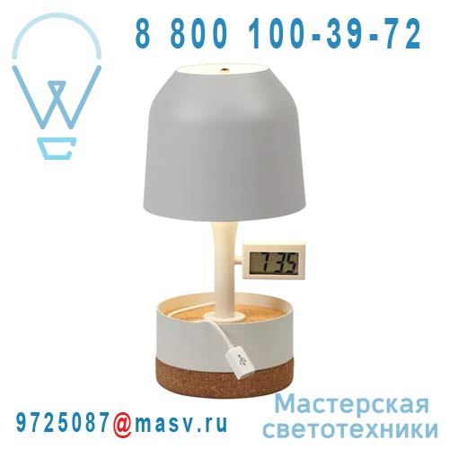AL11130SLG Lampe Blanc casse - HODGE PODGE REVEIL Forestier