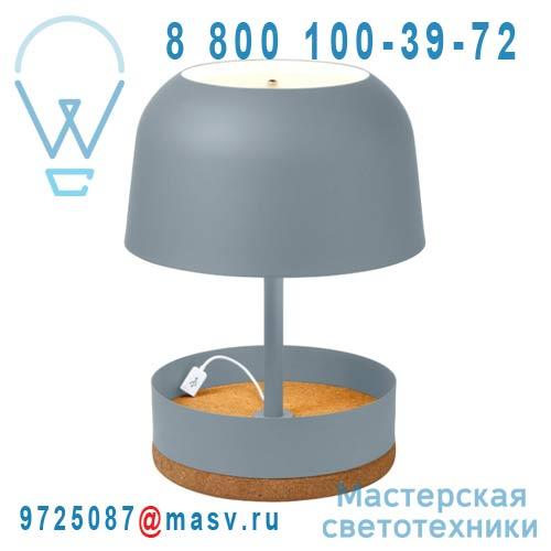 AL11130LGE Lampe Gris - HODGE PODGE USB Forestier