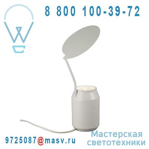 AL13130LG Lampe Blanc casse - LENS Forestier