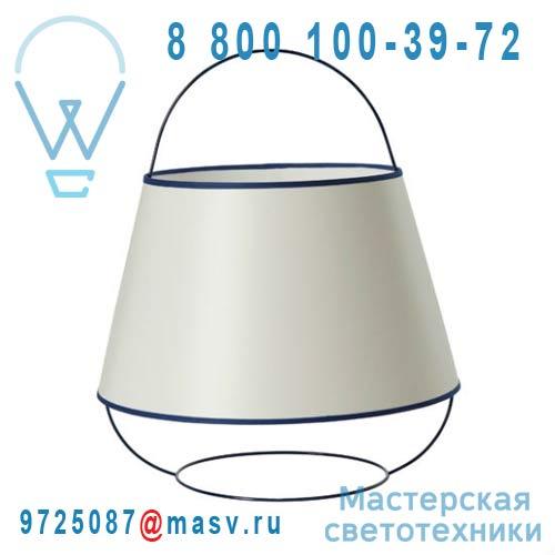 SB14132BL Lampe Blanc/Bleu - LOOP Forestier