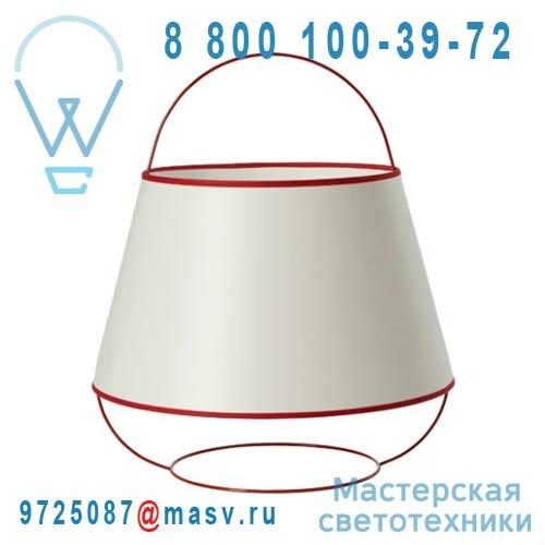 SB14132RD Lampe Blanc/Rouge - LOOP Forestier