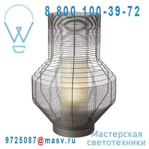 AL24130L Lampe Gris M - MESH Forestier
