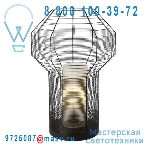 AL24130XL Lampe Noir L - MESH Forestier