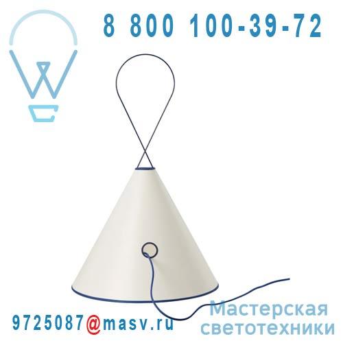 SB14130BL Lampe Blanc/Bleu - TIPEE Forestier