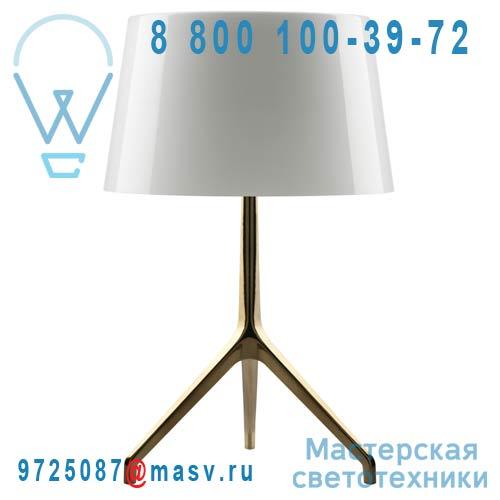 191001G 11 Lampe Bronze / Blanc - LUMIERE XXL Foscarini