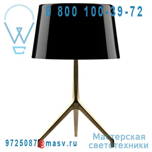 191001G 20 Lampe Bronze / Noir - LUMIERE XXL Foscarini