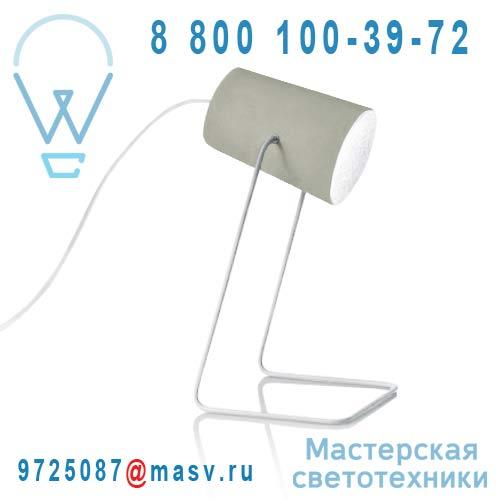 IN-ES060014G-B Lampe a poser Gris/Blanc - PAINT CIMENTO In-es Artdesign