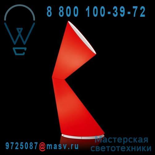 K872ROEU Lampe de sol Rouge - LA LA LAMP Kundalini