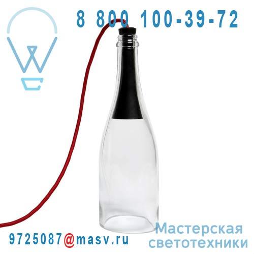 """052066-8 Lampe a poser LED Transparent - BOUTEILLE TORCHE L""""Atelier d""""Exercices"""